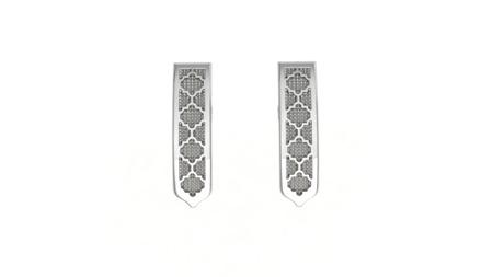 Kolczyki srebrne Classic Silver
