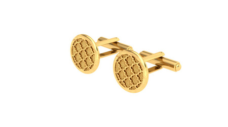 Cufflinks Business Gold