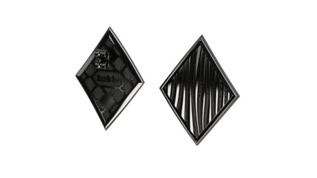 Earrings Baltic Black