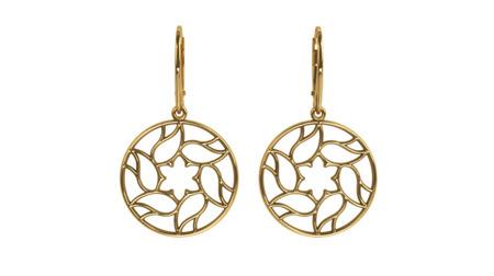 Earrings Milano Gold