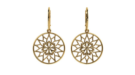 Earrings Yorkshire Gold