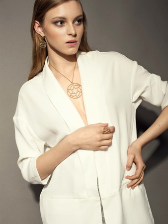 Necklace Chartres Gold