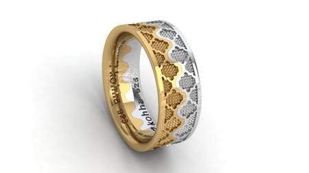 Crown Silver-Gold Set