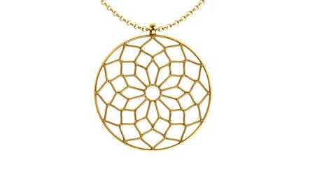 Halskette Chartres Golden