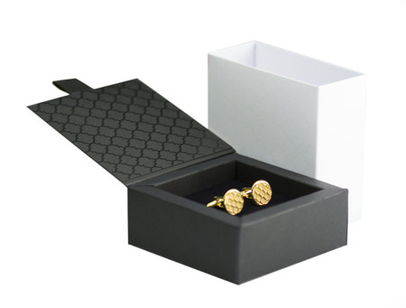 Manschettenknöpfe Business Golden