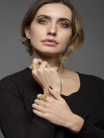 Ring Milano Golden