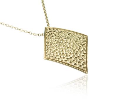 Naszyjnik pozłacany Vesuvio Gold
